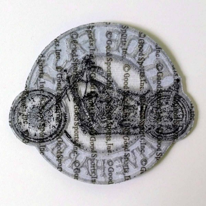 "Circle Bike Patch 9"" – Picture 2"