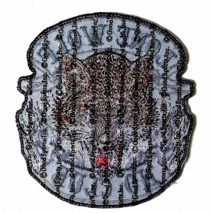 "Lone Wolf Full Face Patch 11"" – Picture 2"