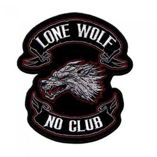 "Lone Wolf Patch 4"" – Picture 1"