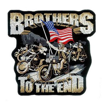 Brothers till the End Patch 5""