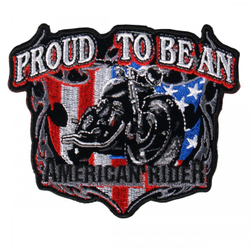 "American Rider Patch 4"" 001"