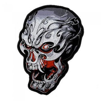 Electric Skull Patch 4""