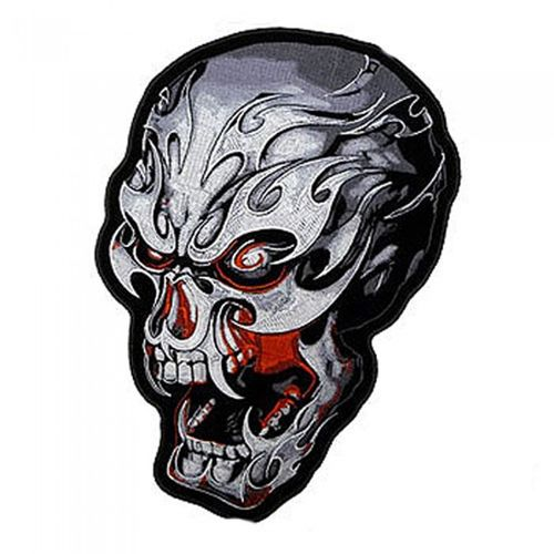 "Electric Skull Patch 4"" – Picture 1"