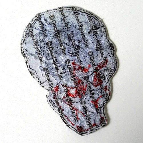 "Electric Skull Patch 4"" – Picture 2"