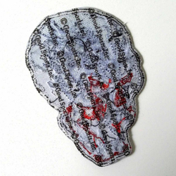 "Electric Skull Patch 4"" PPA5070 – Bild 2"
