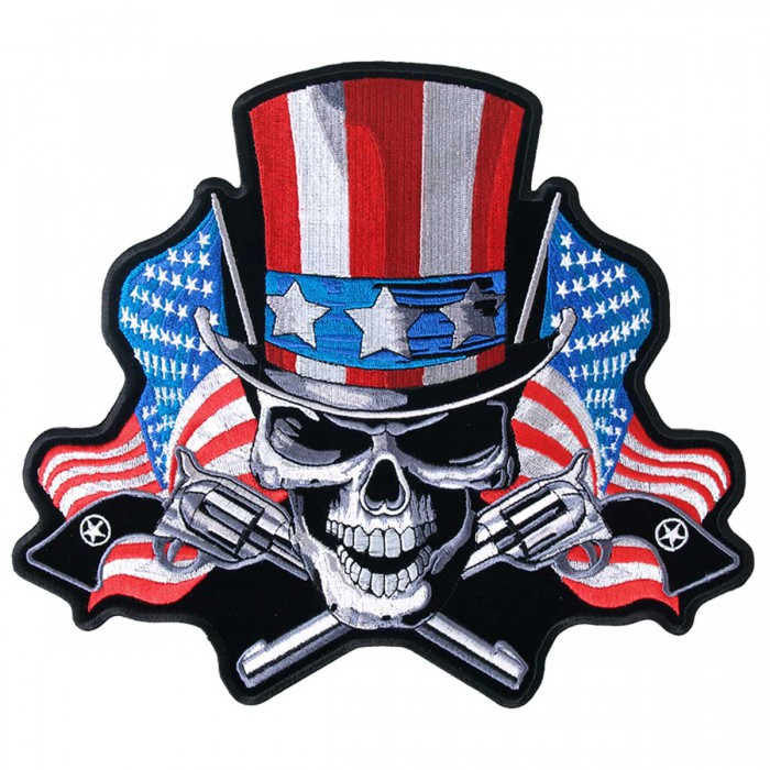 "Angrier Uncle Sam Patch 5"" PPA6310"