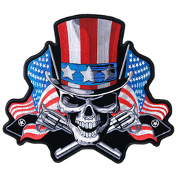 "Angrier Uncle Sam Patch 5"" PPA6310 001"