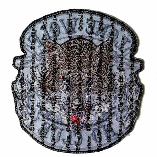 "Lone Wolf Full Face Patch 5"" – Picture 2"