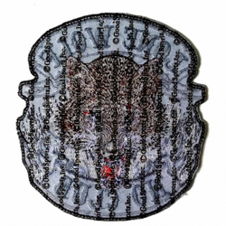 "Lone Wolf Full Face Patch 5"" PPA3850 – Bild 2"