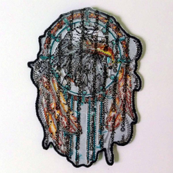 "Eagle Dream Catcher Patch 6"" PPA6834 – Bild 2"