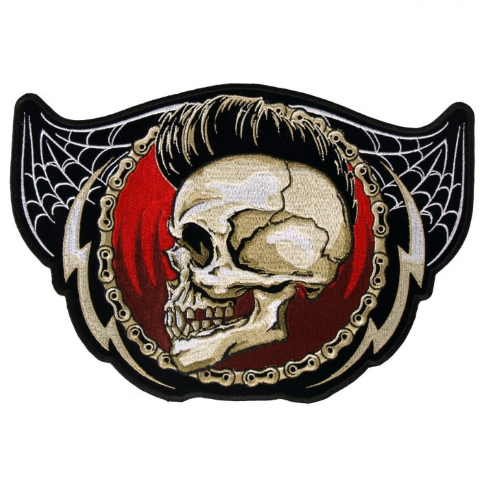 "Punk Skull Patch 5"" – Picture 1"