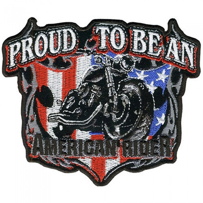 "American Rider Patch 11"" – Picture 1"