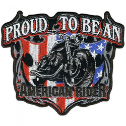 """American Rider Patch 11"""" 001"""