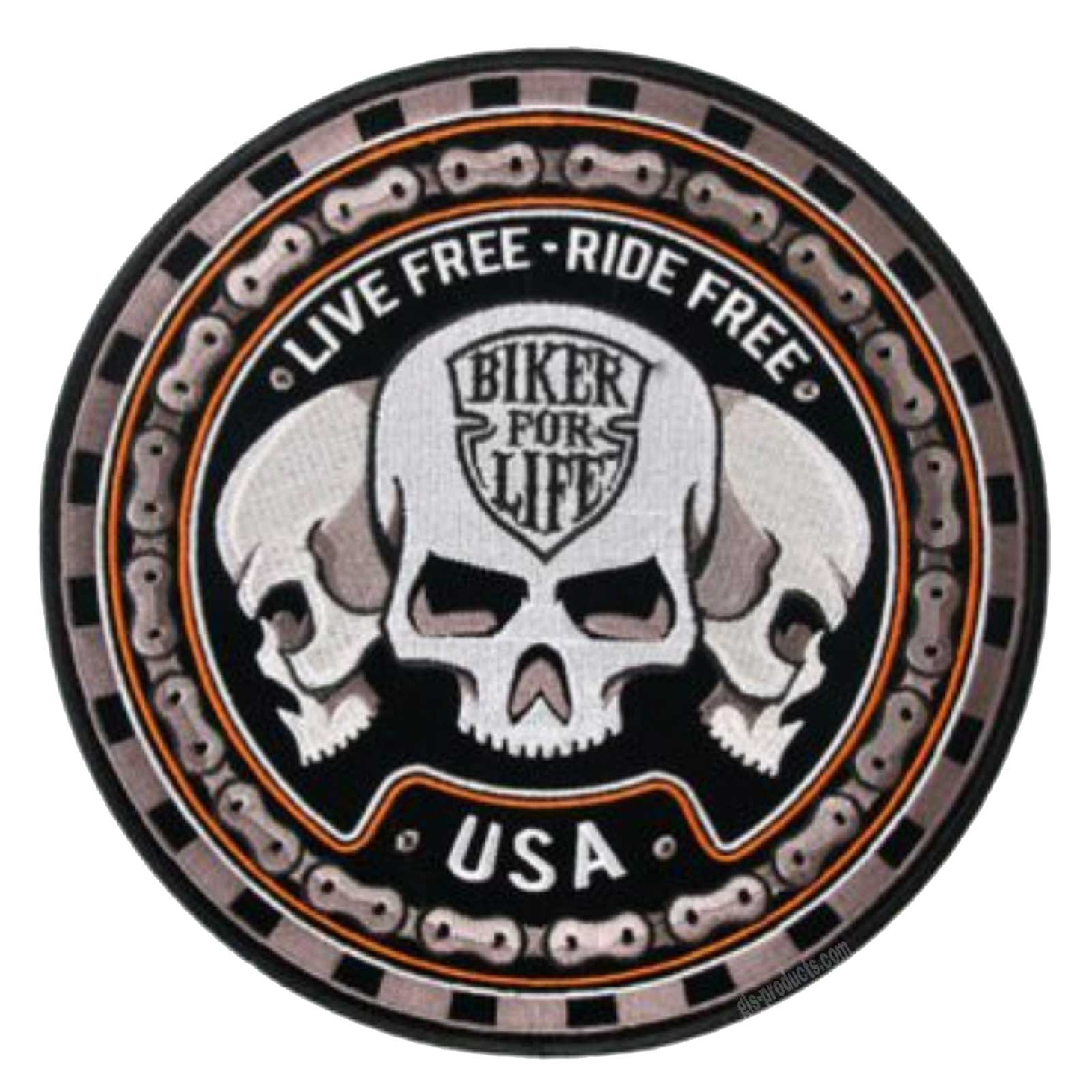 "Trio Skull Patch 9"" PPA6287"