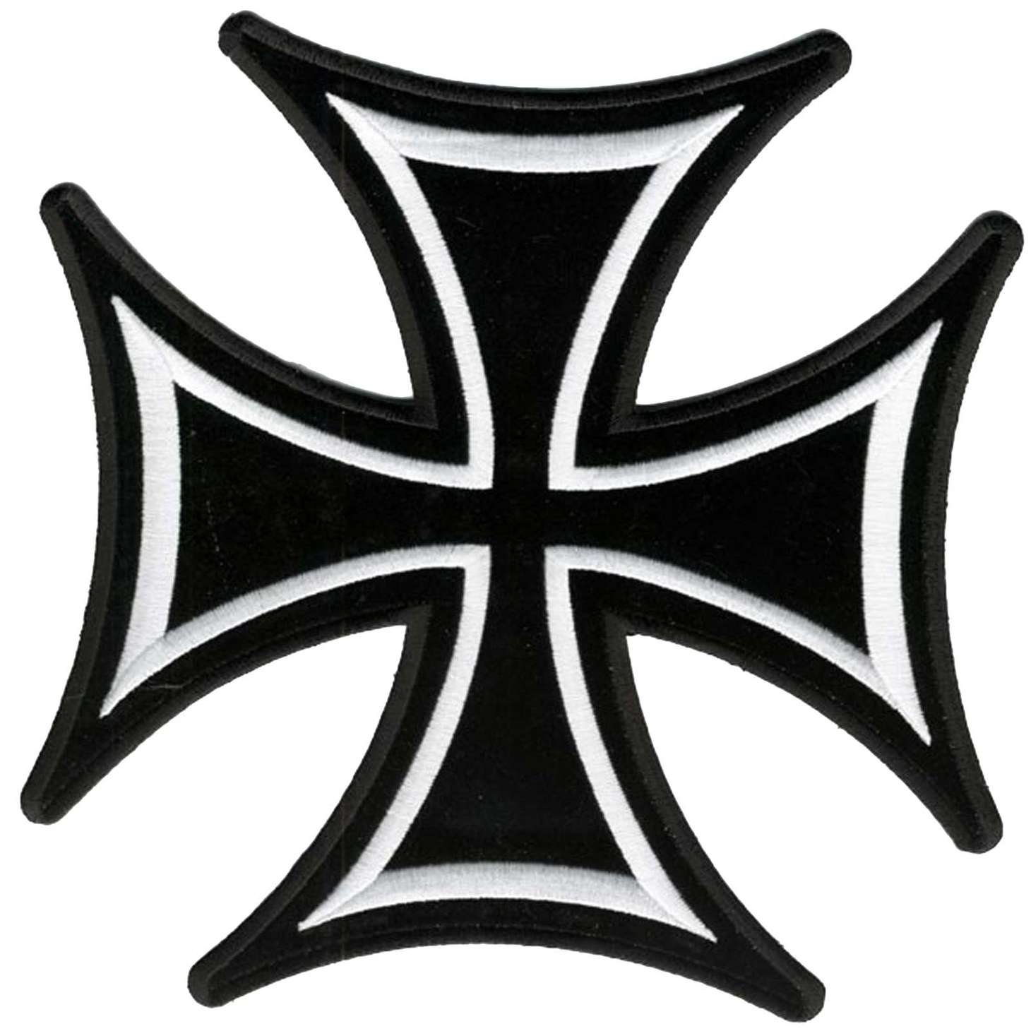 "Iron Cross Patch 8"" PPA1395"