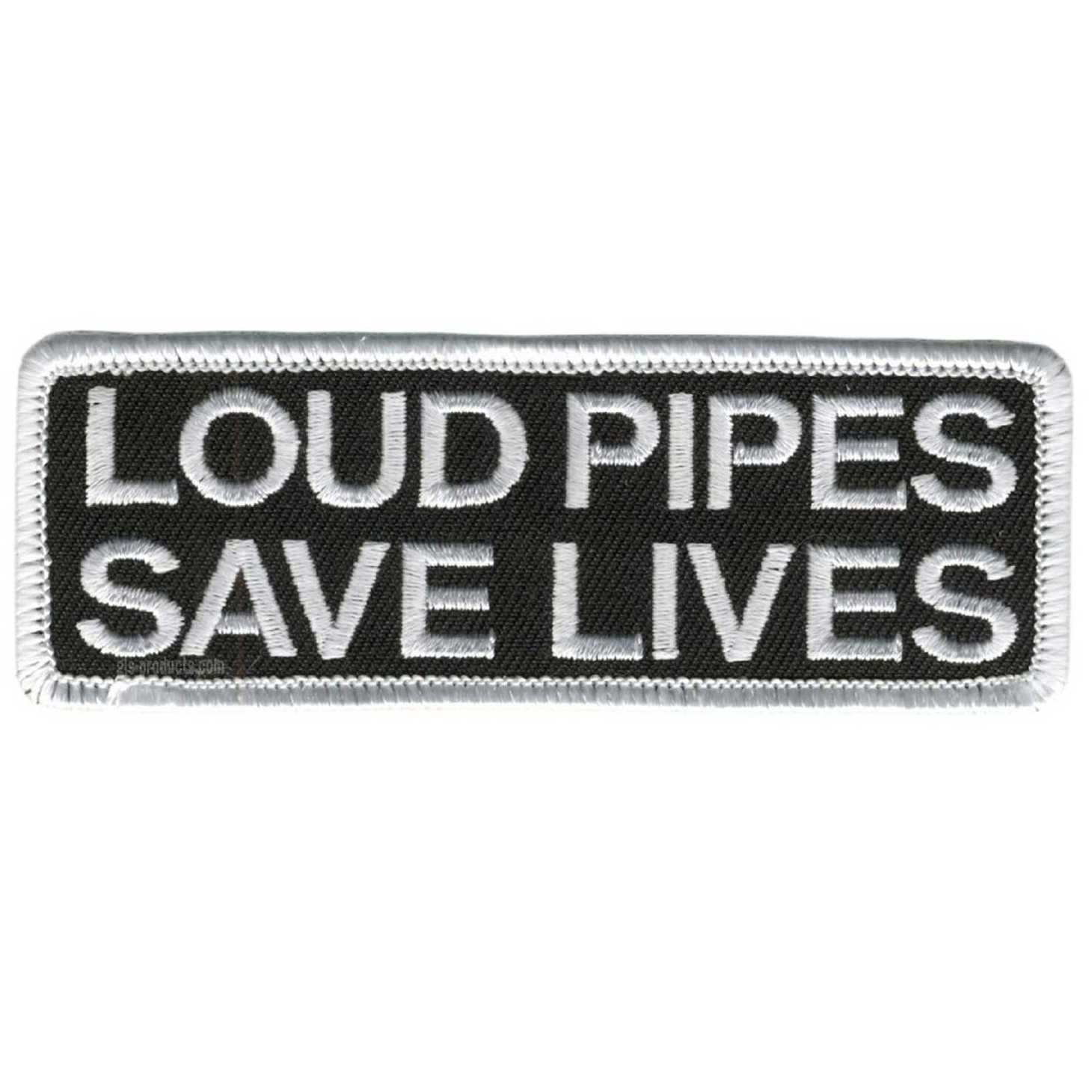 "Loud Pipes Save Lives Patch 4"" – Picture 1"