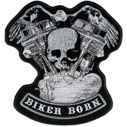 "Panhead Skull Eagle Patch 5"" PPA3330 001"