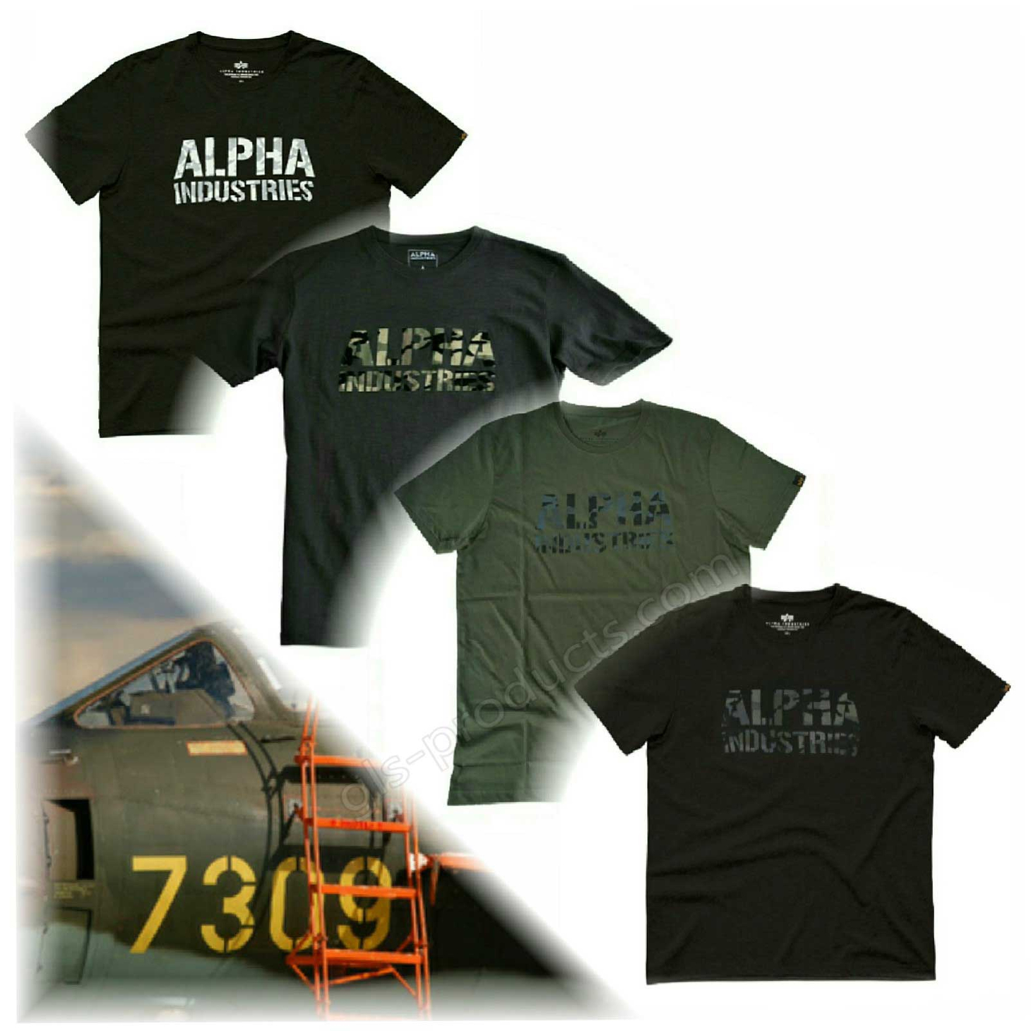Alpha Industries Camo Print T 156513 – Picture 5
