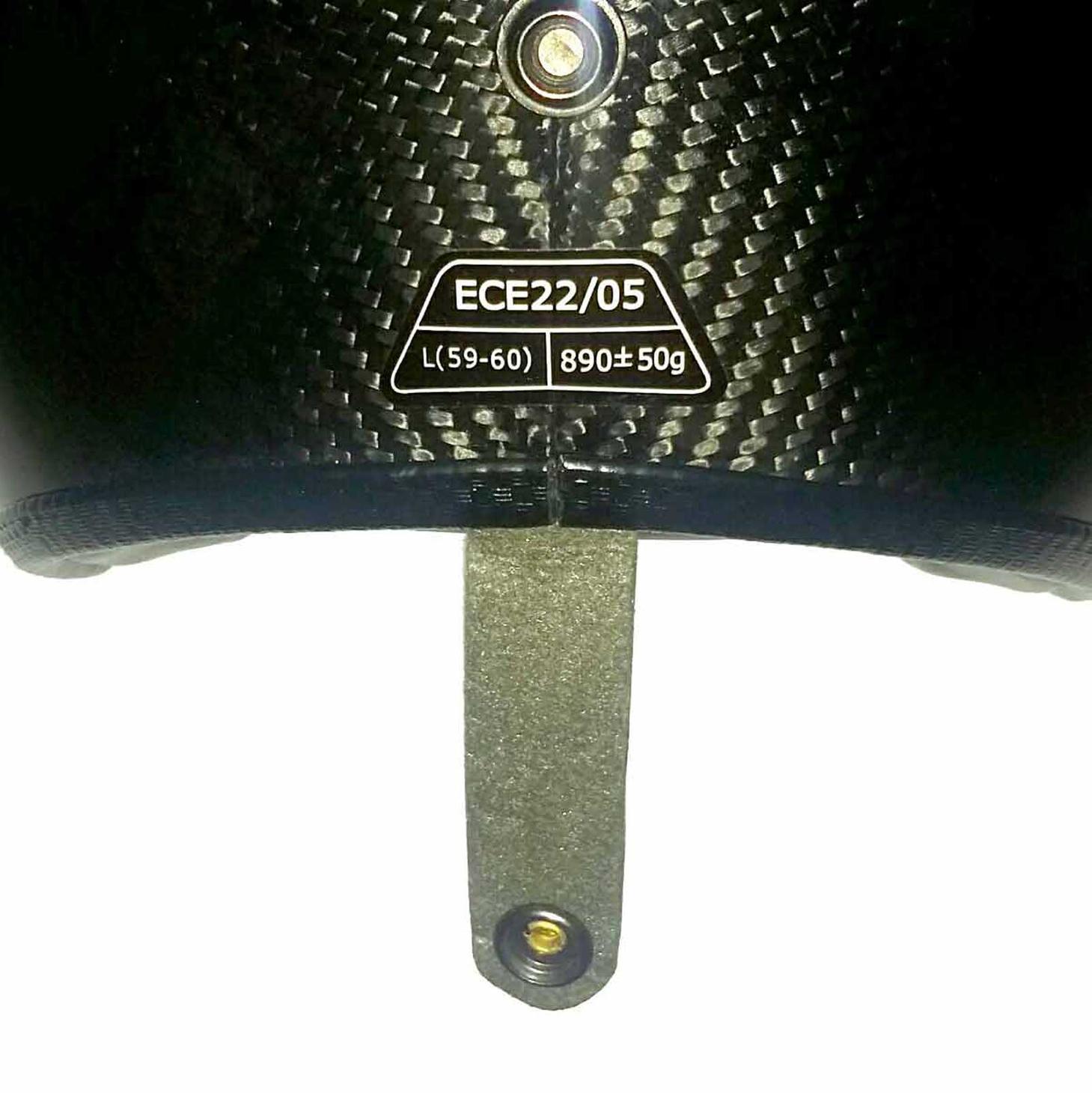ECE-certified Carbon jet helmet by Bandit Helmets – Picture 5