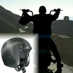Bandit Helmets ECE geprüfter Carbon Jethelm – Bild 10