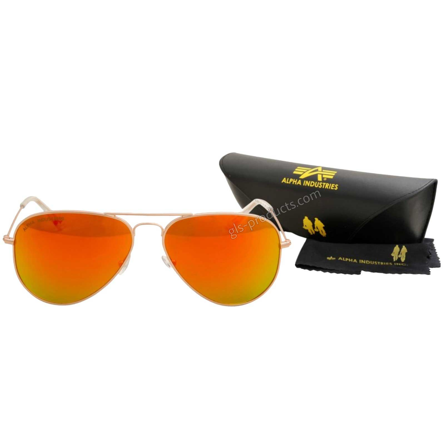 Alpha Top Gun Sunglasses mirrored 158904 – Picture 1