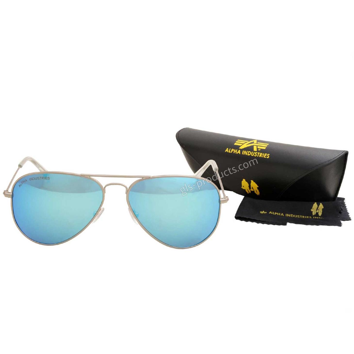 Alpha Top Gun Sunglasses mirrored 158904 – Picture 4