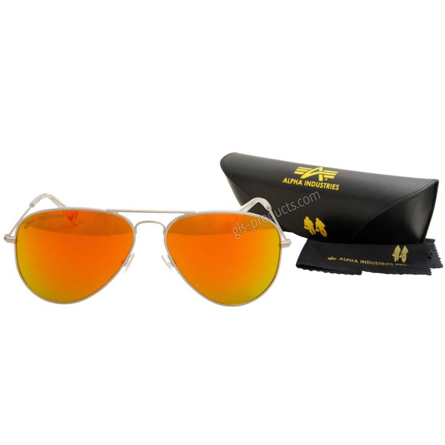 Alpha Top Gun Sunglasses mirrored 158904 – Picture 2
