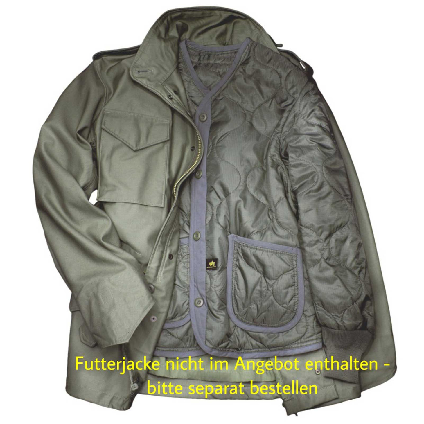 Alpha Industries M-65 Field Jacket 100103 – Picture 5