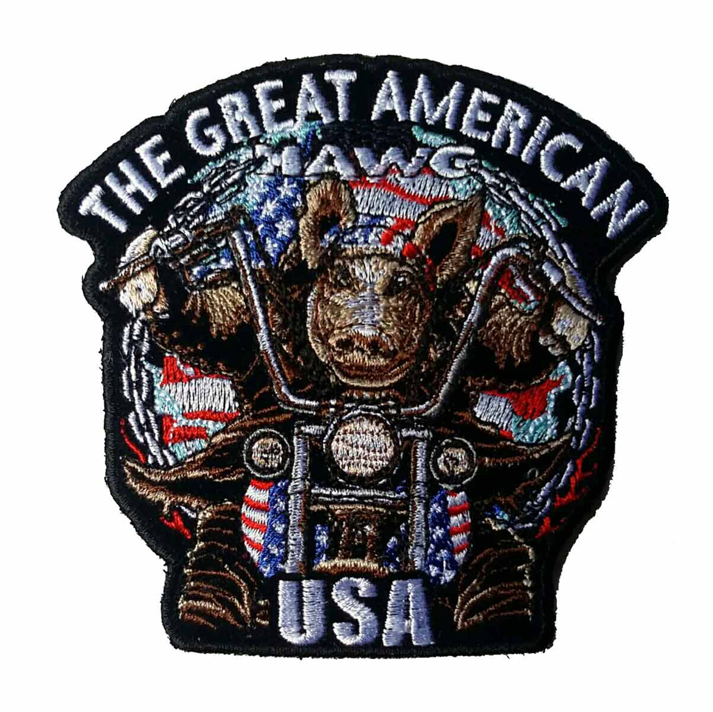 "The Great American Hawg Patch 5"" PPA295"
