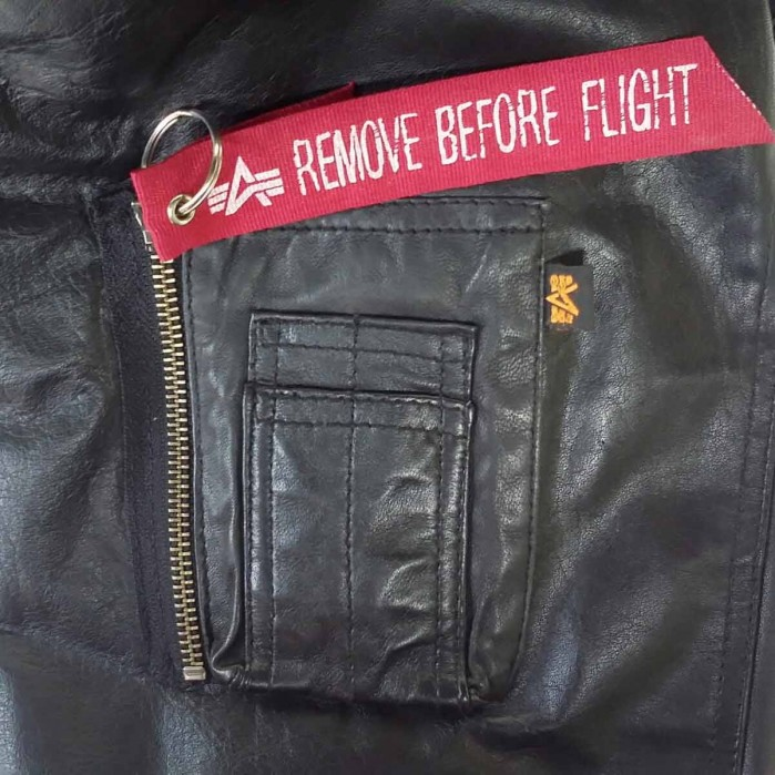 Alpha Industries Engine Leather Jacket 158151 – Picture 6