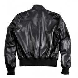 Alpha Industries Engine Leather Jacket 158151 – Bild 3