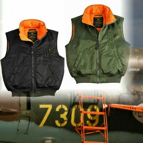 Alpha Industries MA-1 Vest – Bild 9