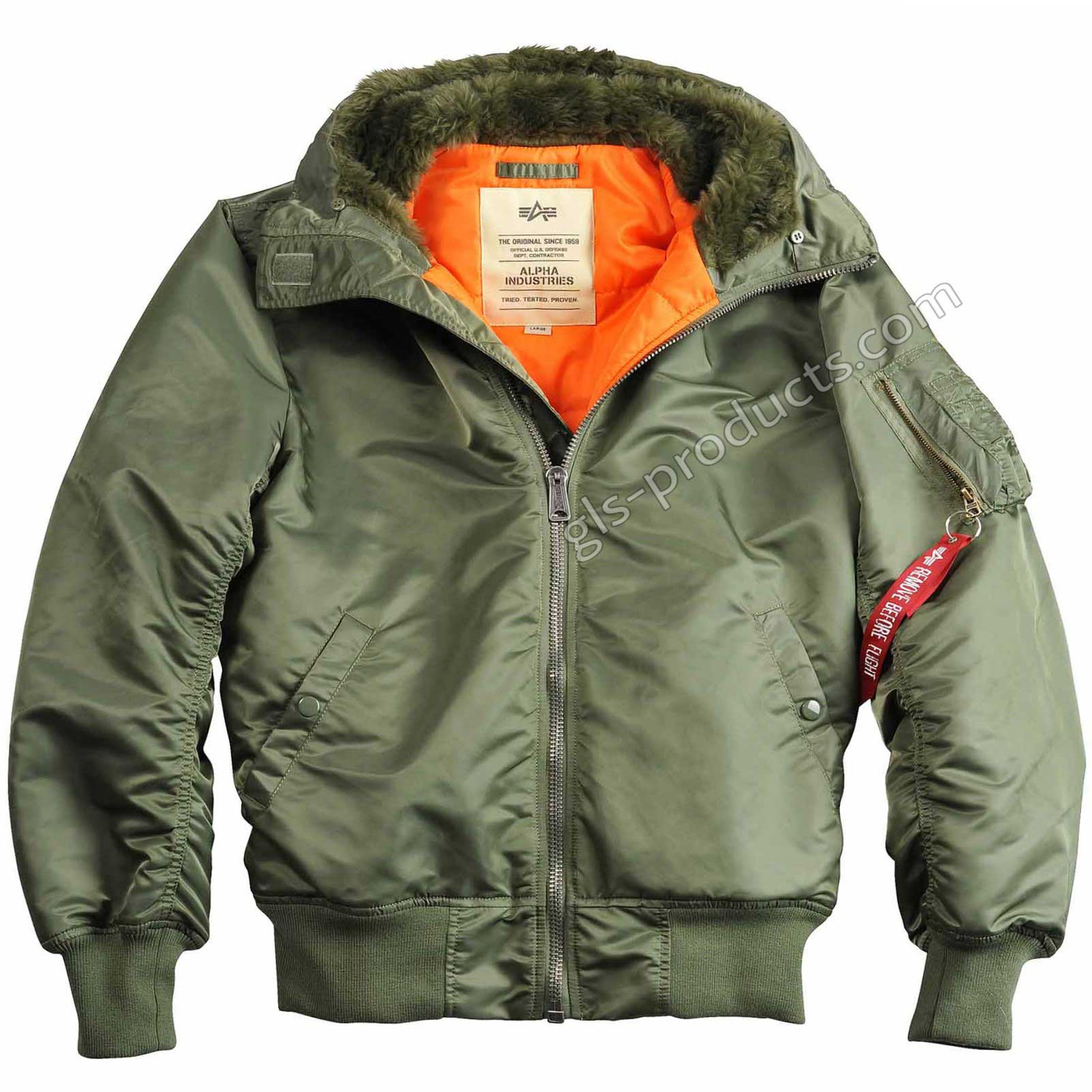 Alpha Industries MA-1 Hooded w/o Fur 158104 – Picture 3