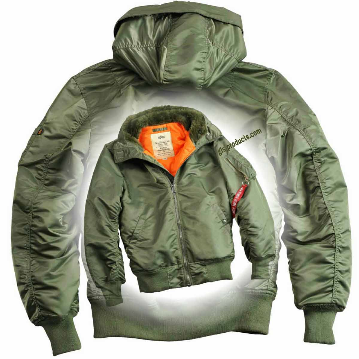 Alpha Industries MA-1 Hooded w/o Fur 158104 – Picture 6
