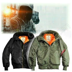 Alpha Industries MA-1 Hooded w/o Fur 158104 001