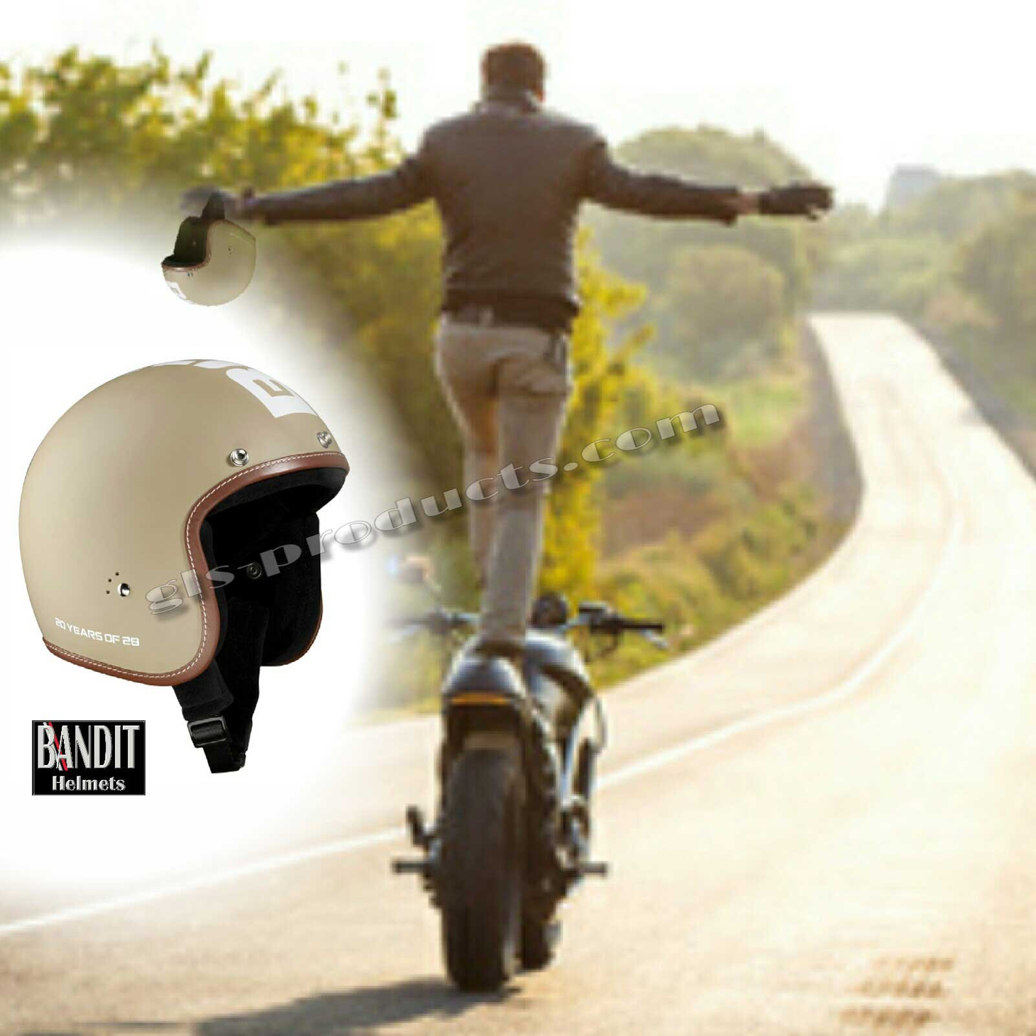 Bandit 20 Years Anniversary open face helmet – Picture 11