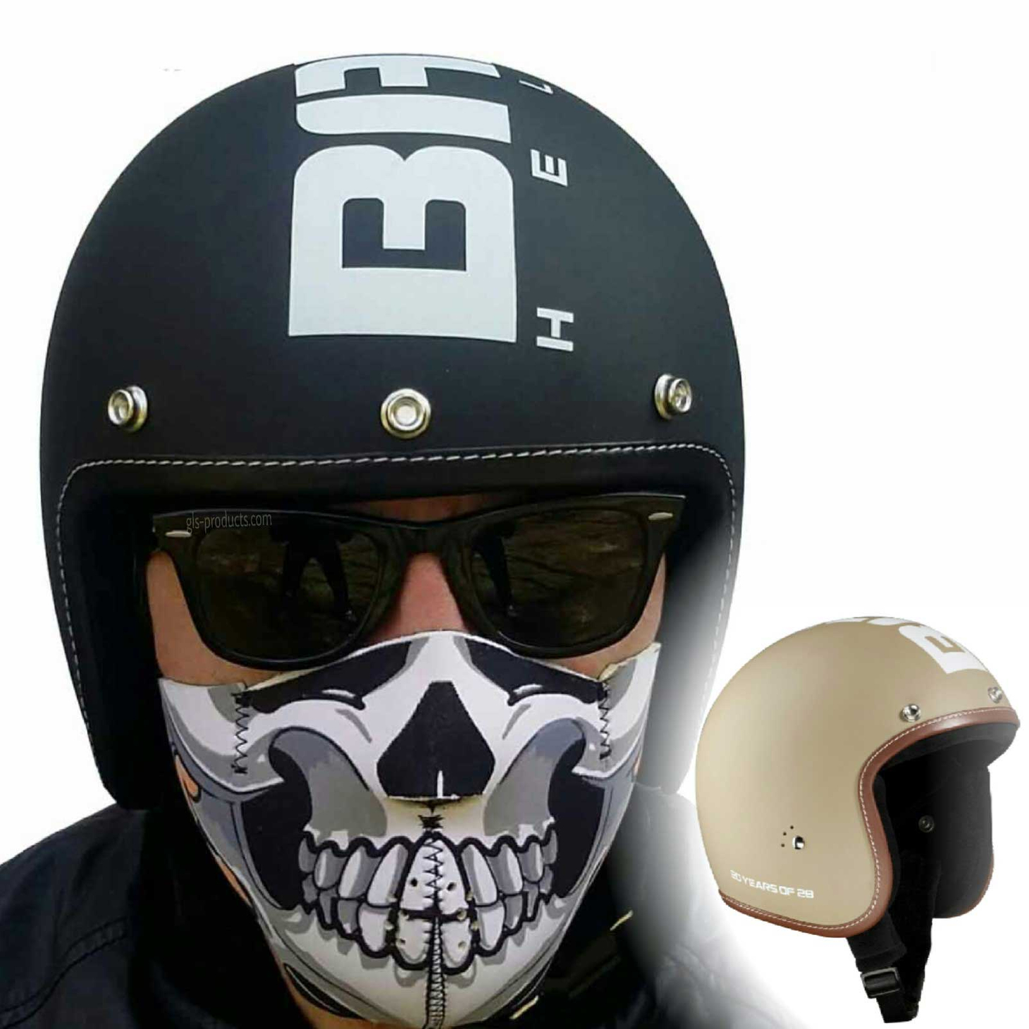 Bandit 20 Years Anniversary open face helmet – Picture 1