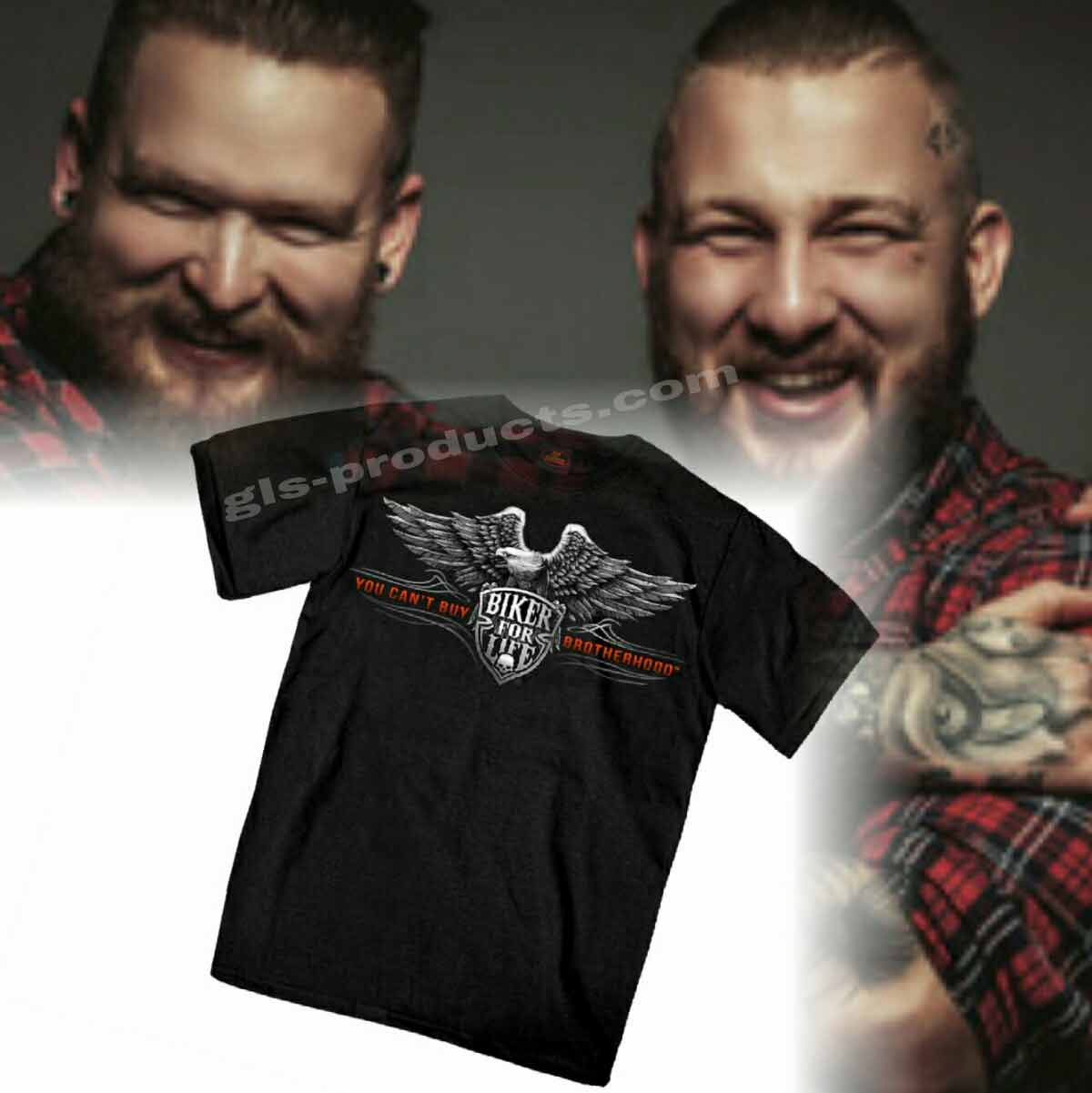 US T-Shirt You can't buy Brotherhood – Picture 3