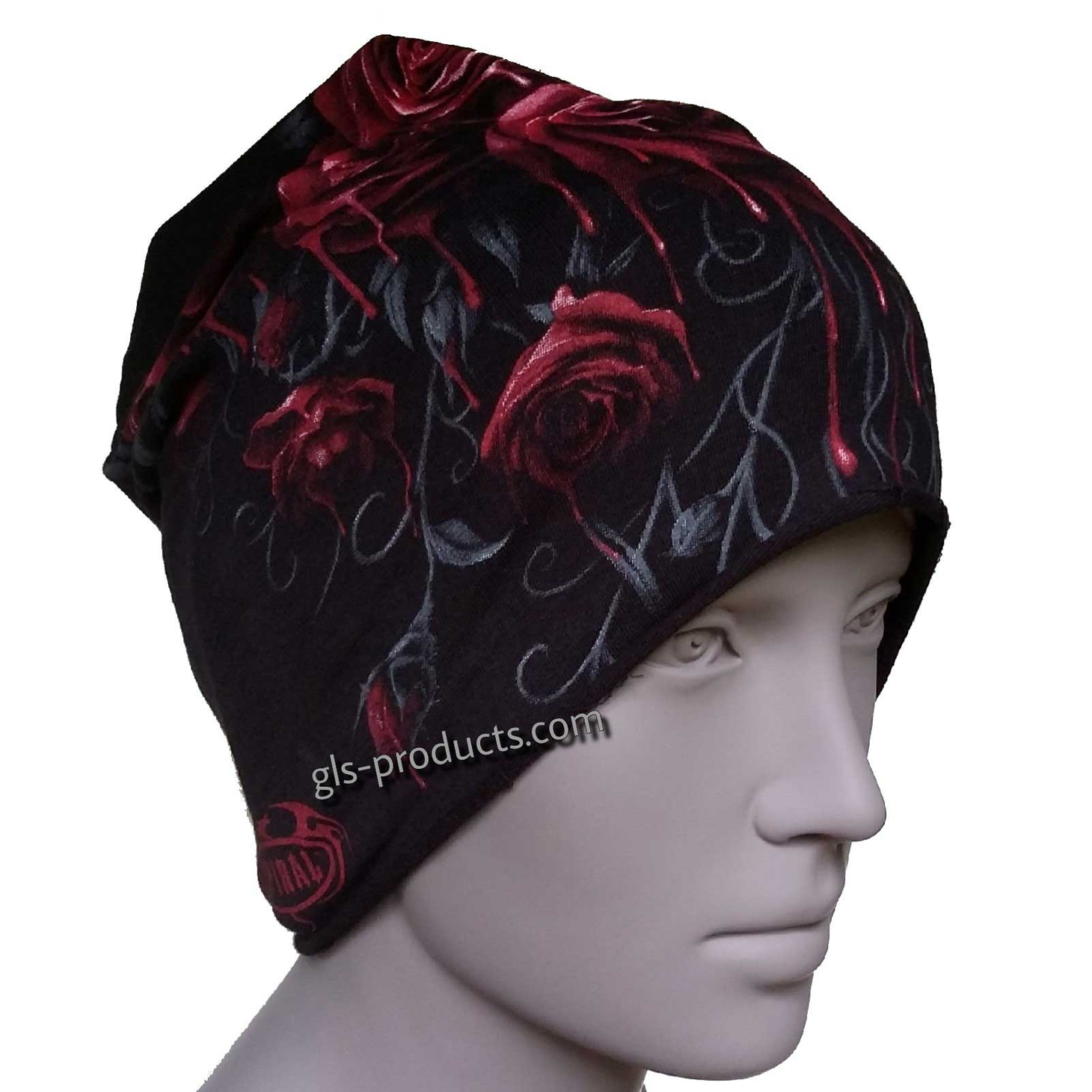 Blood Rose Beanie – Picture 3