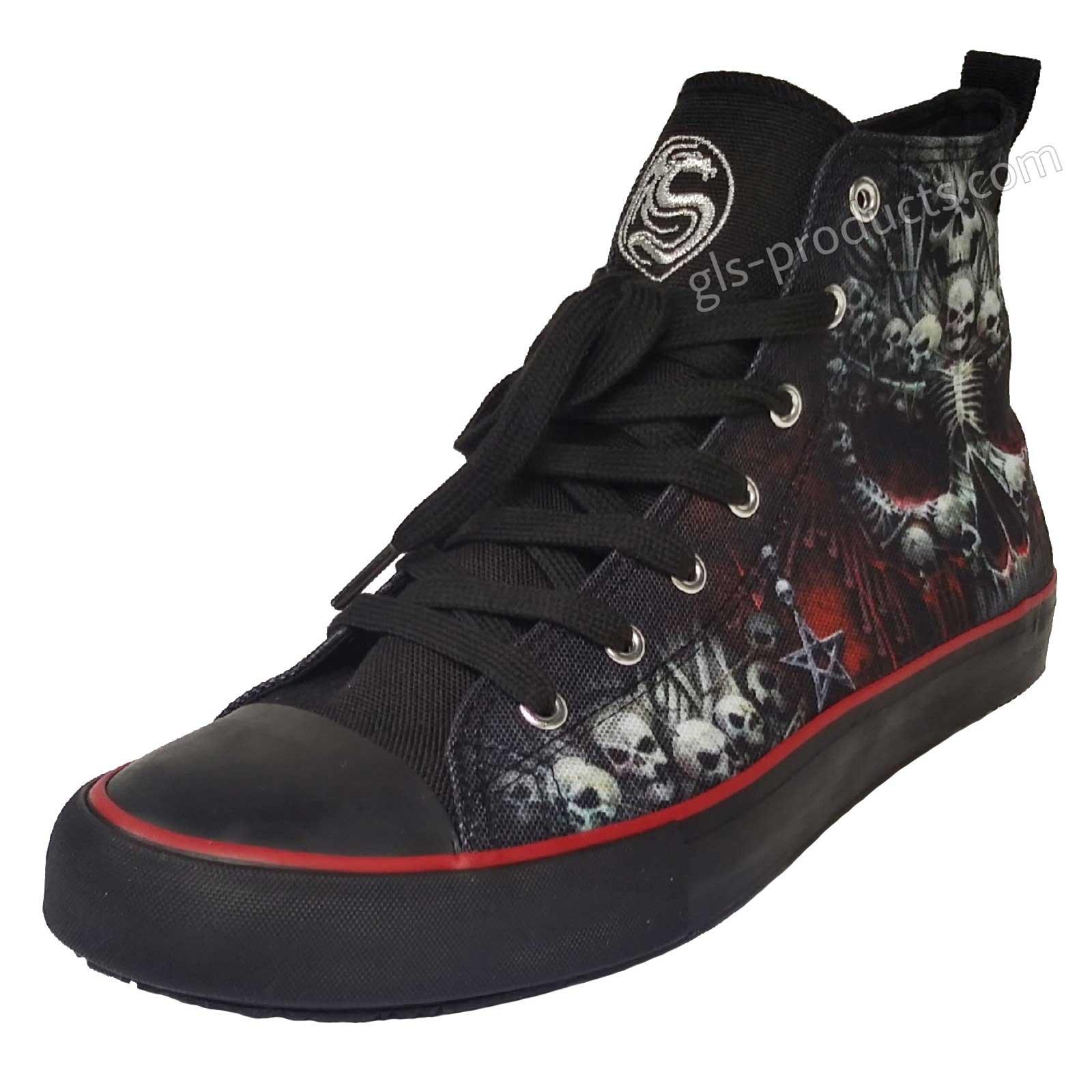 Death Sneakers T126s001 Top Bones Hi 3j54LAR