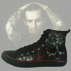 Hi Top Sneakers Death Bones T126S001 – Bild 7