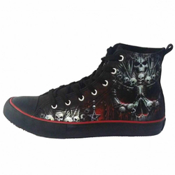 Hi Top Sneakers Death Bones T126S001 – Bild 3