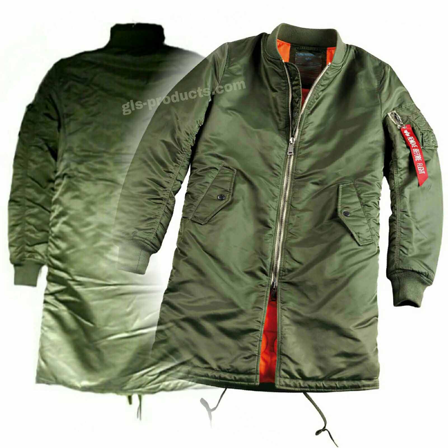 Alpha Industries MA-1 Coat for women 2016 158001 – Picture 1