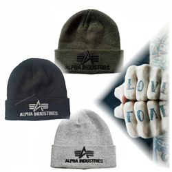 Alpha Industries 3D Beanie 168910 – Bild 1