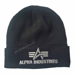 Alpha Industries 3D Beanie 168910 – Bild 3