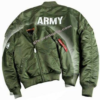 Alpha Industries MA-1 VF 59 Army Bomber 168108 – Picture 4