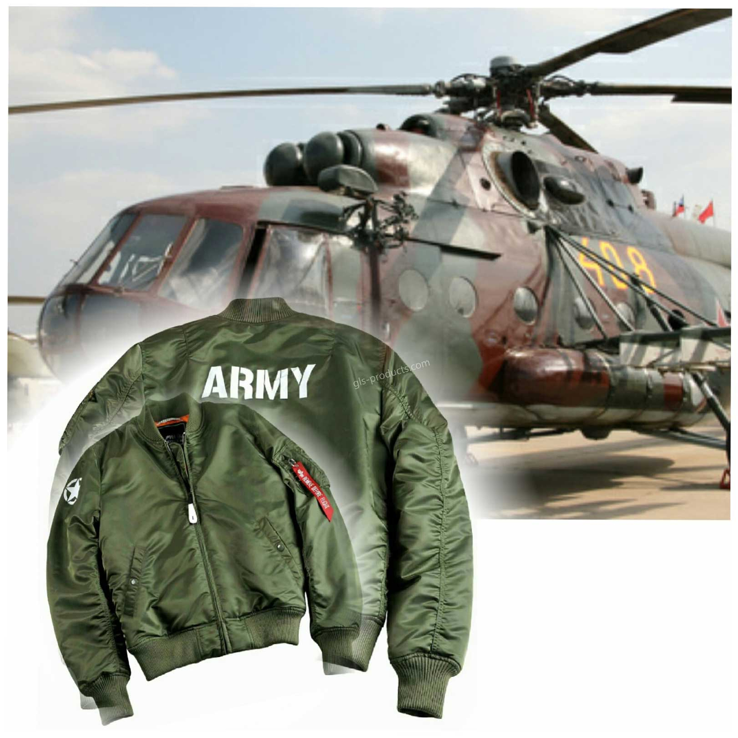 Alpha Industries MA-1 VF 59 Army Bomber 168108 – Picture 1