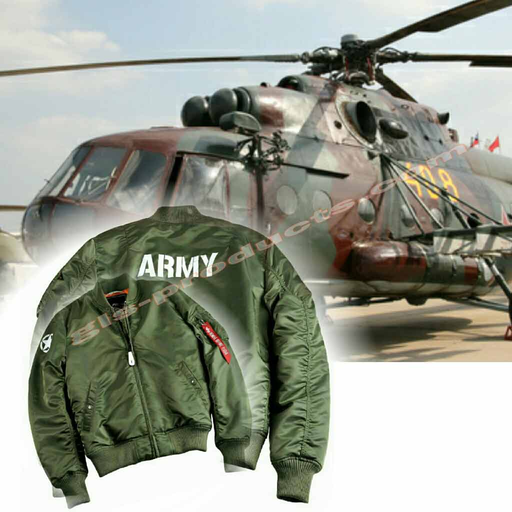 Alpha Industries MA-1 VF 59 Army Bomber 168108 – Picture 13