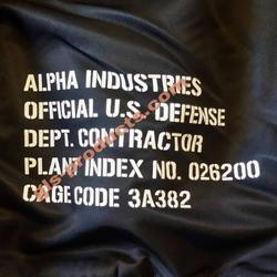 Alpha Industries MA-1 VF 59 Army Bomber 168108 – Bild 10