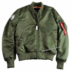 Alpha Industries MA-1 VF 59 Army Bomber 168108 – Bild 3